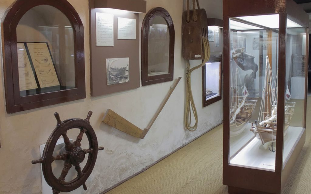 RAK museum has many artifacts collected from the ruling family of Qawasimi