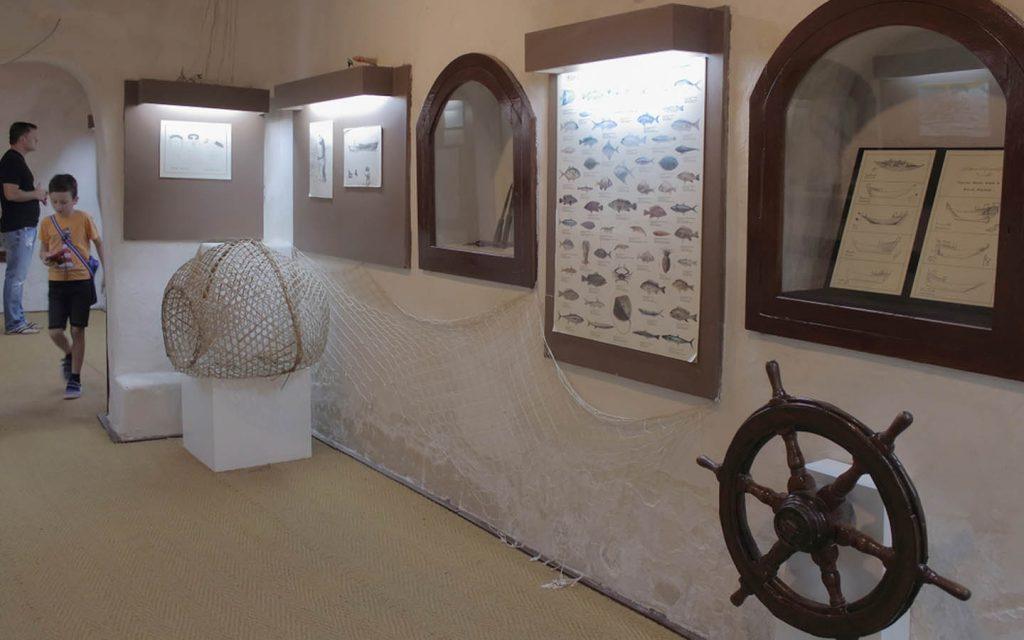 Historical documents are also on display in the museum of RAK