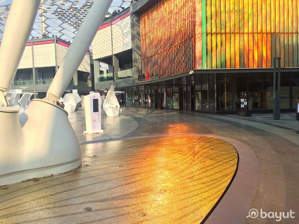 The Central Plaza of the Lifestyle Destination City Walk Recommended by Bayut.com