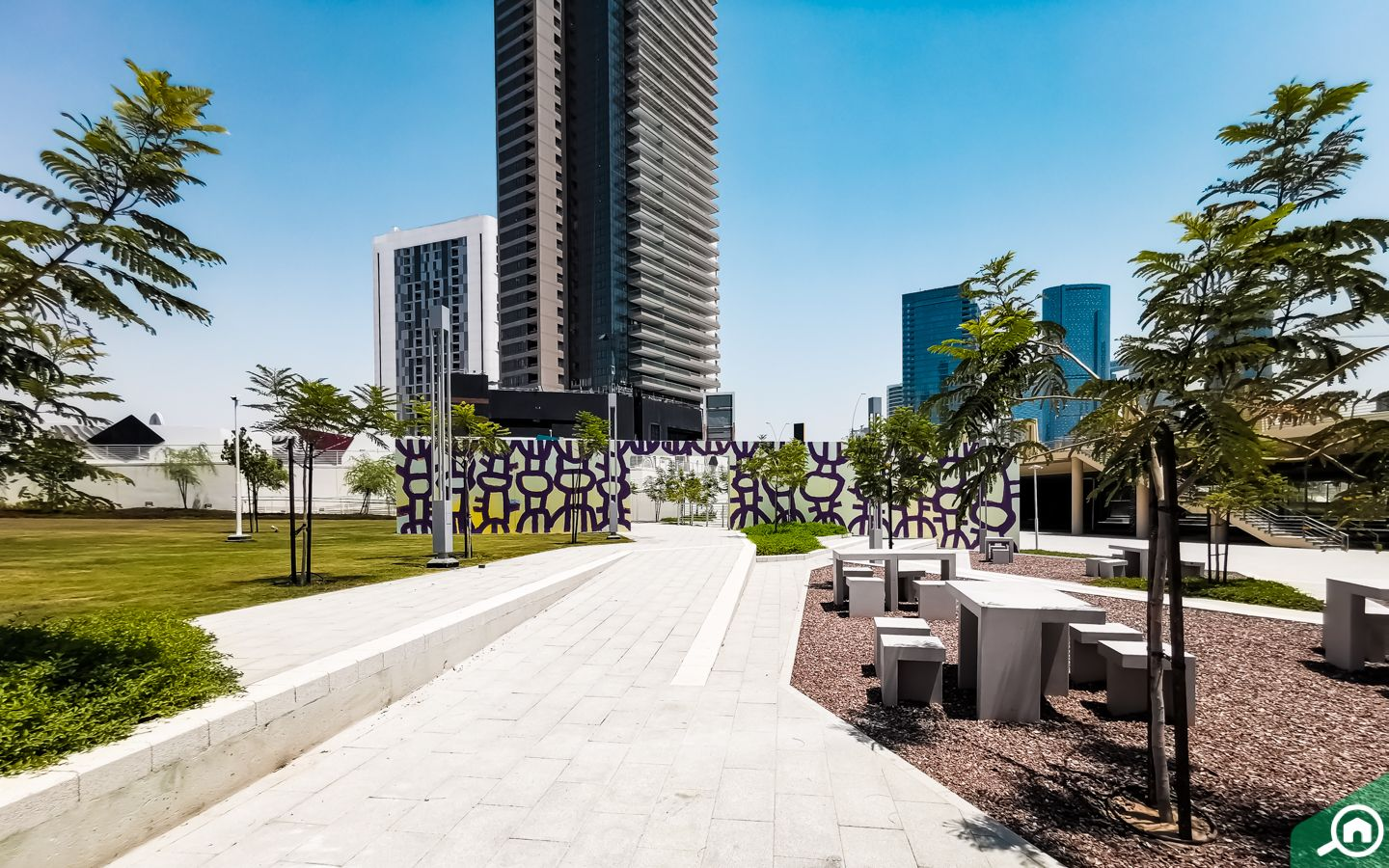 Reem Central Park for fun things to do in Al Reem Island