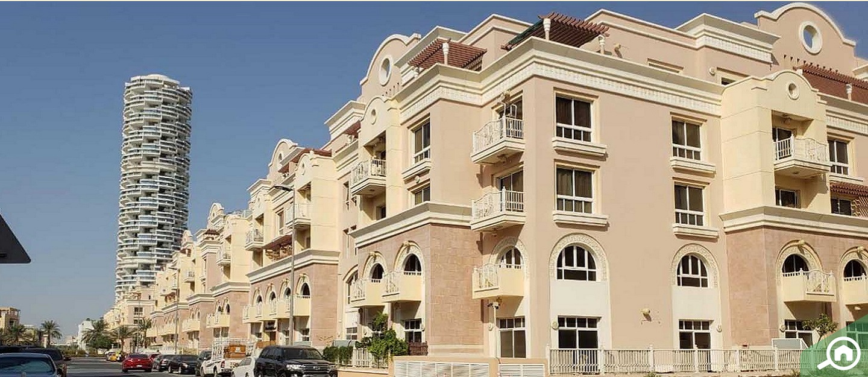 rent a studio or 1 bedroom apartment in dubai