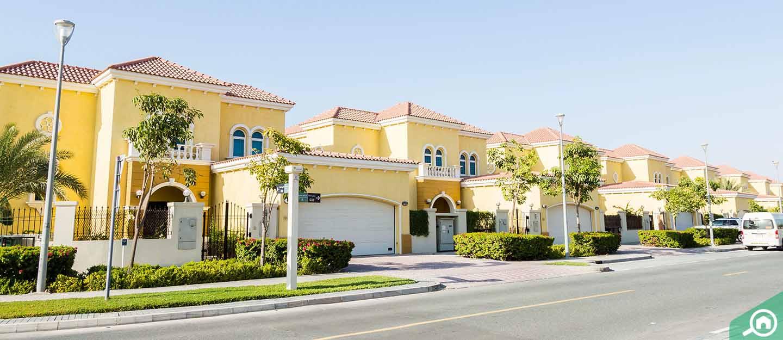 rent villas in jumeirah park