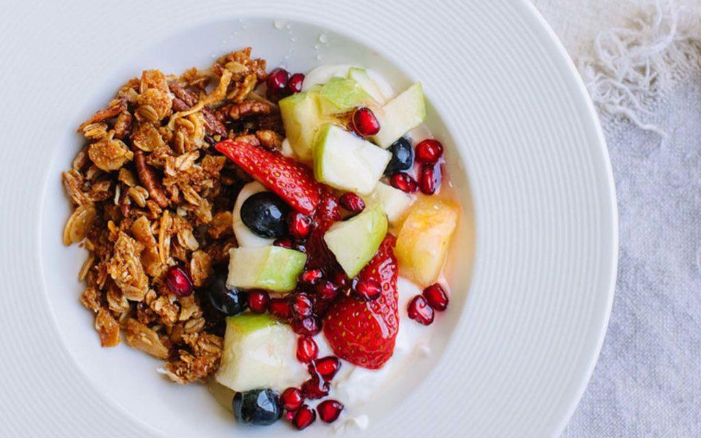 طبق فطور صحي