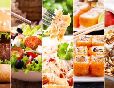 Food from different restaurants in Fujairah