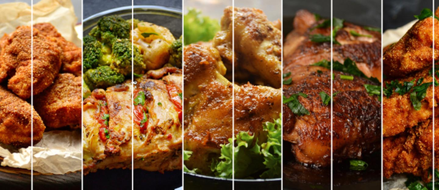 Different cuisines served at restaurants in Sharjah