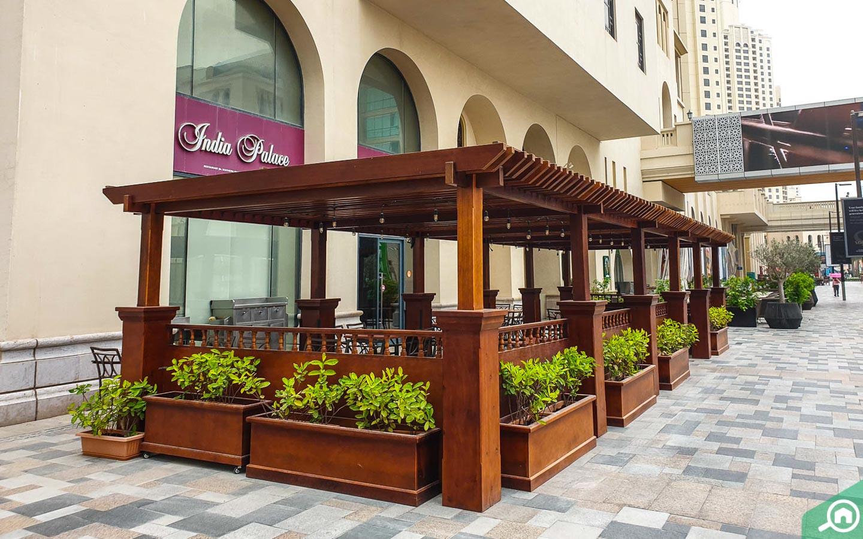 Restaurants on JBR Walk