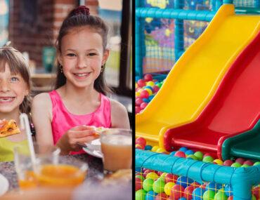 restaurants with indoor play areas in dubai
