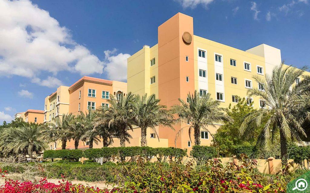 Apartment buildings in Ritaj DIP Dubai