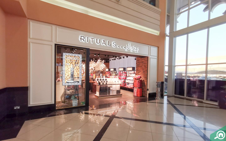 Rituals store in Arabian Center