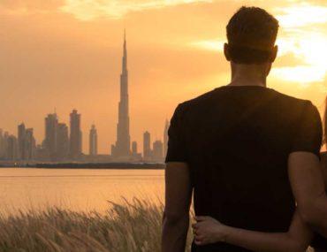 Couple in Dubai