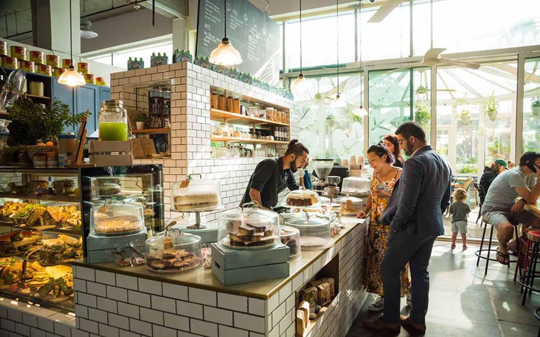 Coffee Bar at Roseleaf Cafe in Dubai