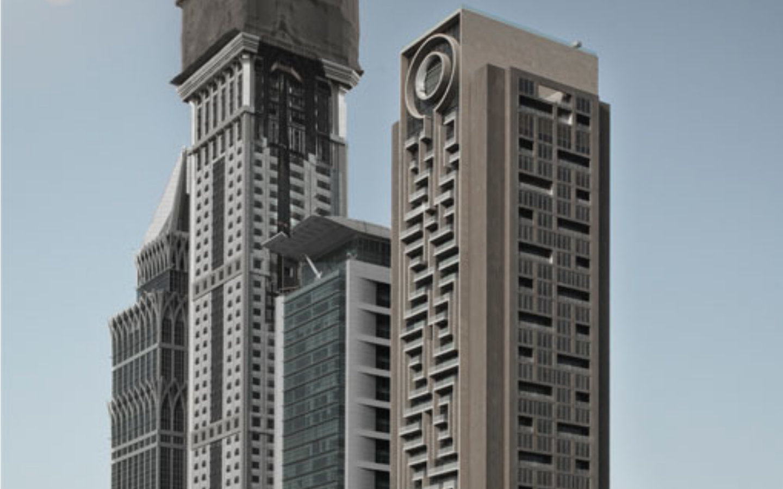 Al Rostamani Maze Tower is one of the Dubai World Records