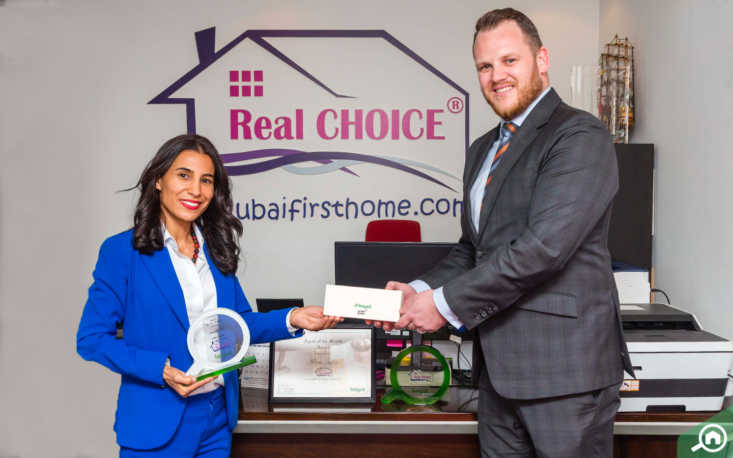Rym Taher - Bayut Agent of the month for Jan 2019