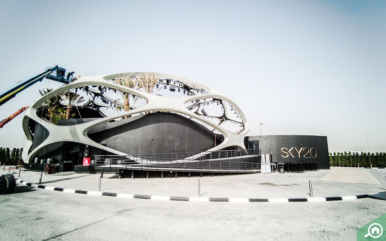 SKY 2.0 nightclub in Dubai