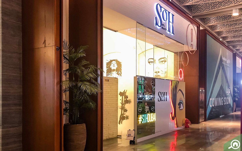 Salon and Gallery at Galleria Mall Dubai