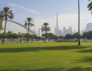 View of Burj Khalifa from Safa Park - Parks in Dubai