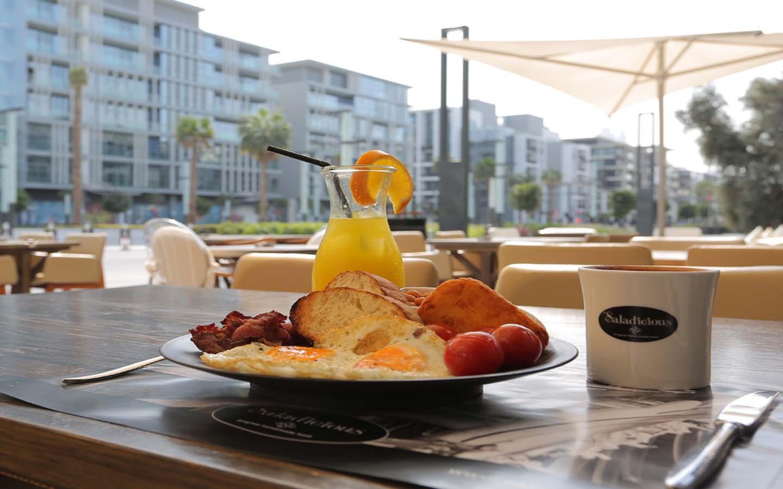 Saladicious breakfast