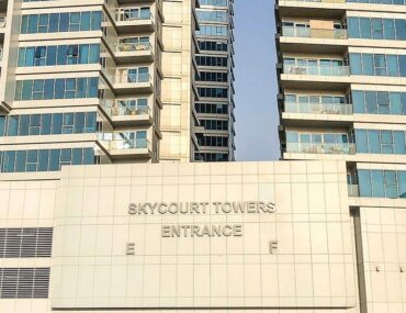 Skycourt entrance