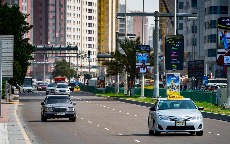 Abu Dhabi roads where Salik will be implemented