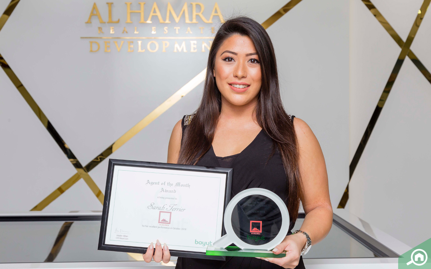 Agent of the Month from Al Hamra Real Estate