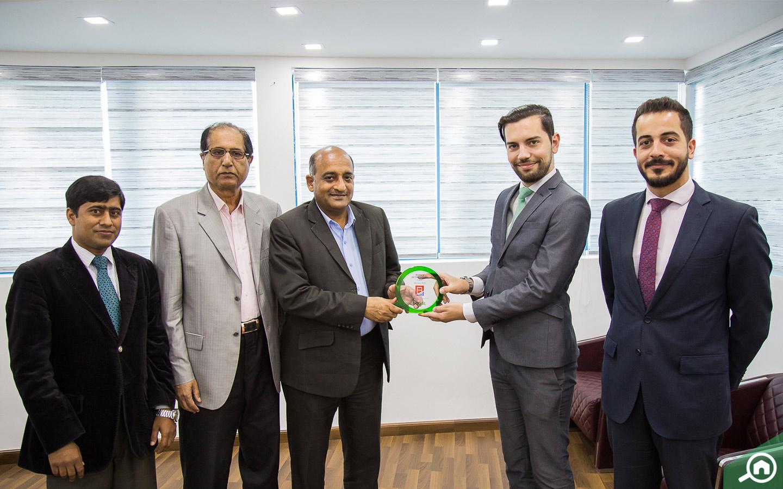 Sarfaraz Khurshid, the CEO ofAl Amlak Real Estate