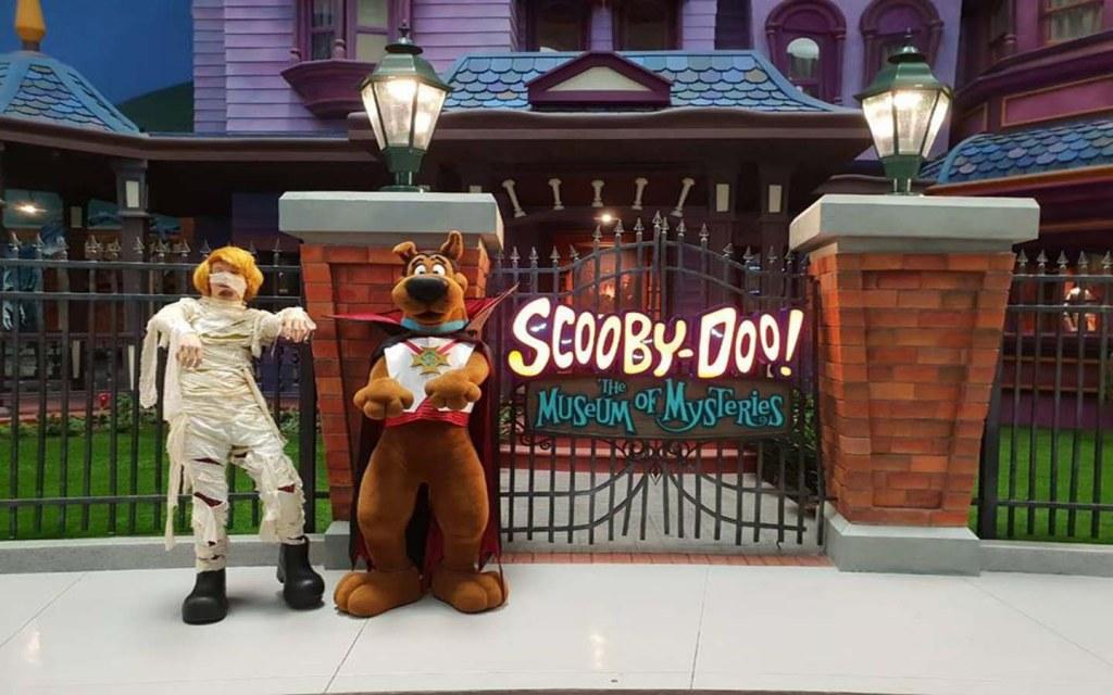Scooby Doo in WB World Abu Dhabi