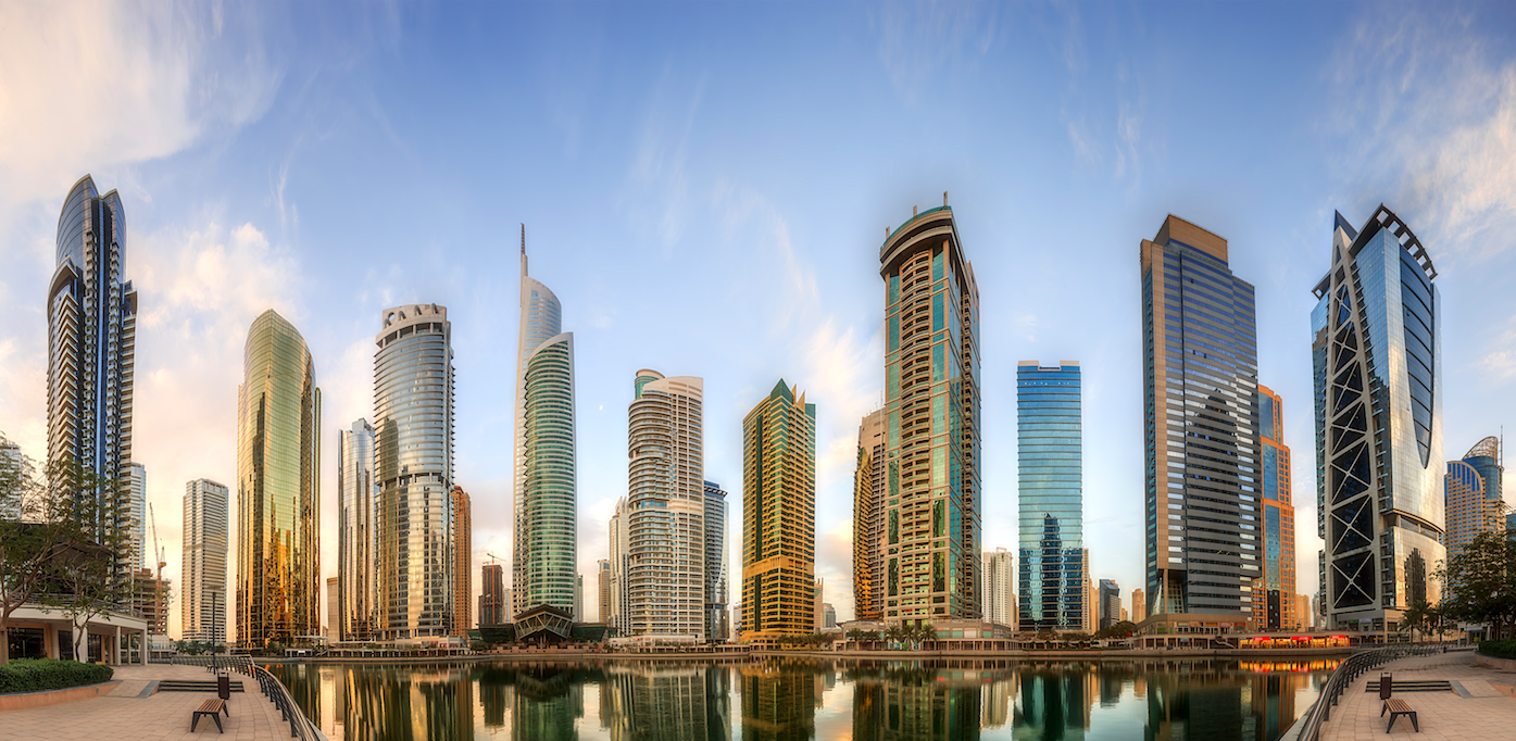 Pano view of JLT