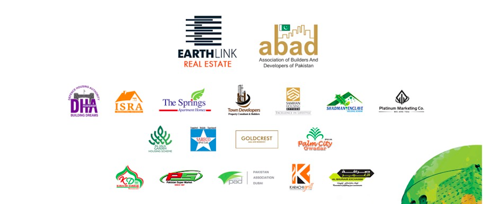 Some of the companies that will be showcased at the Pakistan property show