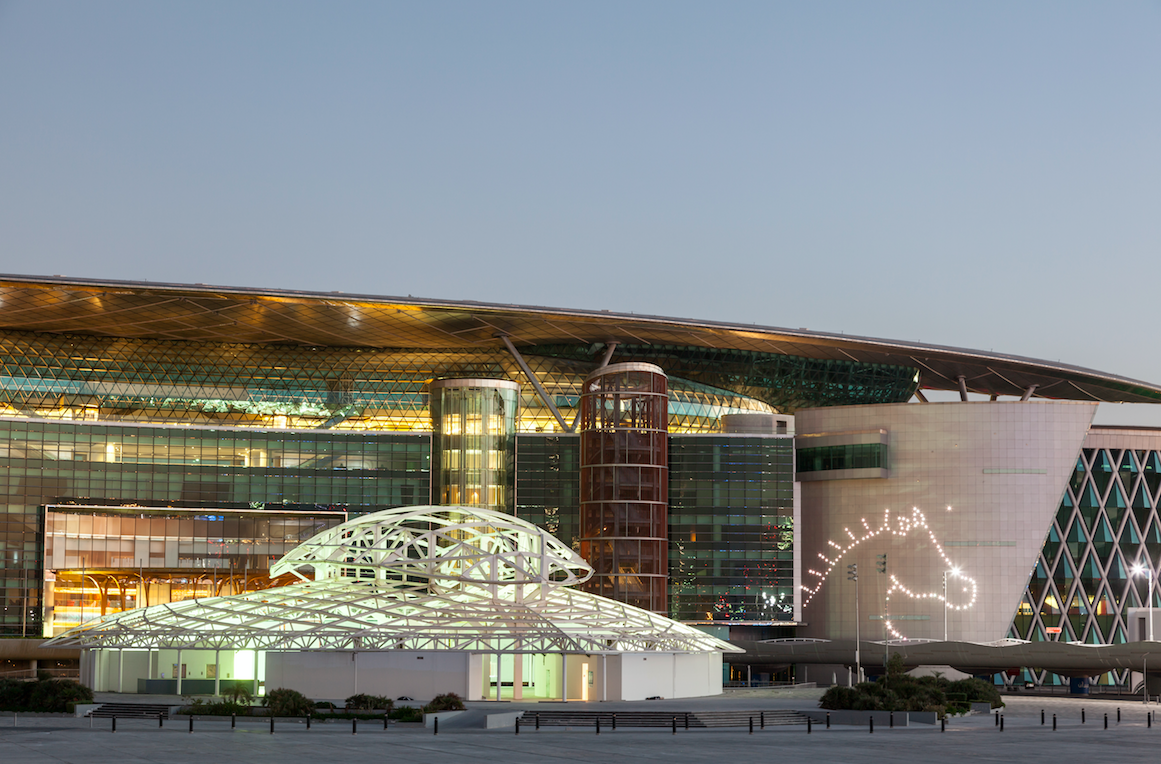 The Meydan racecourse