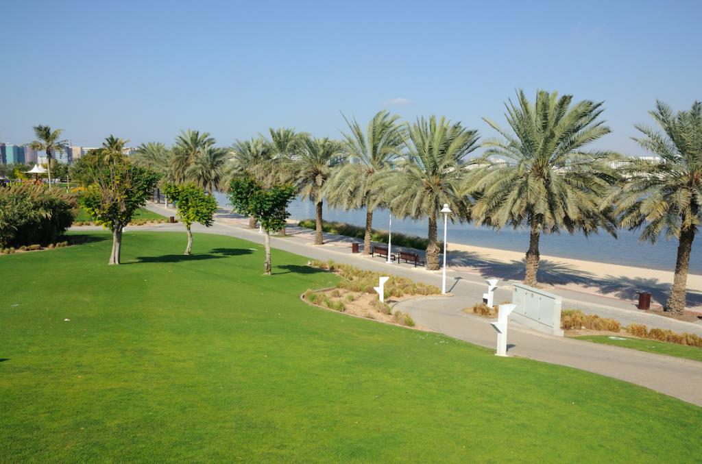 the dubai creek park, one of the best BBQ spots in Dubai