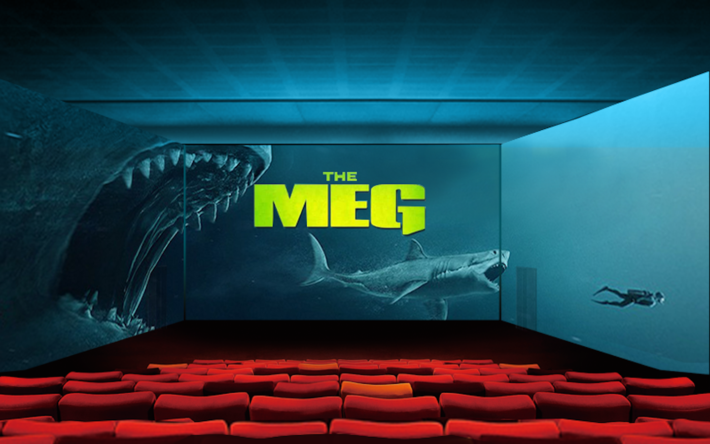 Reel Cinemas launch Screen X which features a 270 degree screen