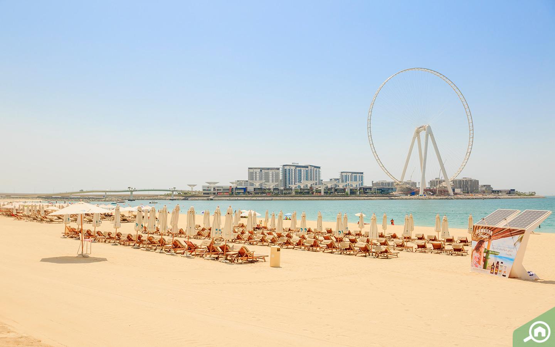 Sea Breeze at JBR Public Beach is the best place to Jet Ski in Dubai