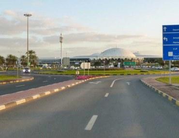 طريق مطار الشارقة الدولي