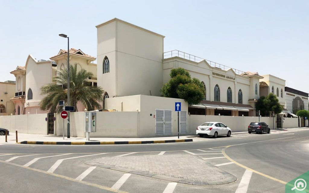 Mar Thoma Church, Sharjah street view