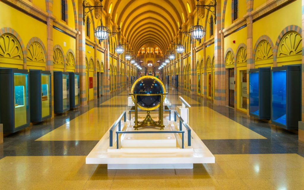 متحف الشارقة للحضارة الإسلامية من الداخل