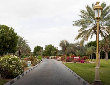 walkway in Sharjah National Park