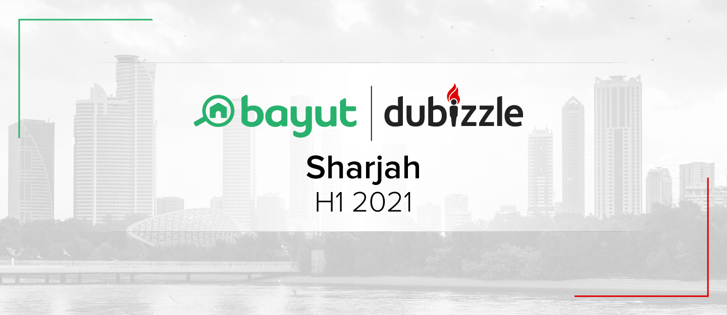 property prices in Sharjah H1 2021