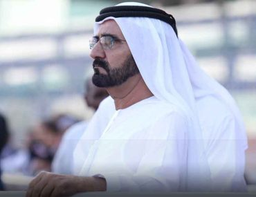 HH Sheikh Mohammed at an event