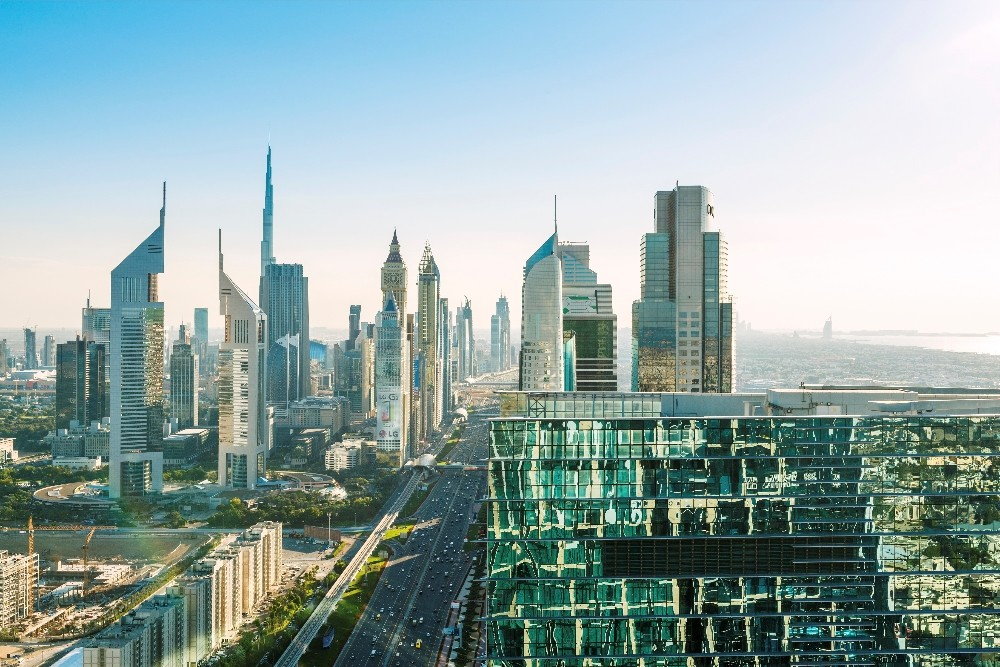 أبراج مدينة دبي
