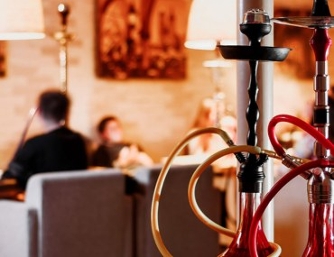 View of one of the best shisha lounges in Dubai