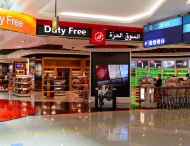Concourse A Dubai International Airport features Duty Free shops