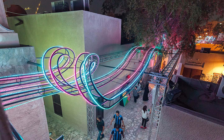 the SIKKA art fair in dubai