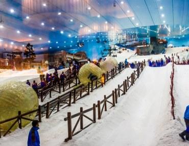 Cover image of slope at Ski Dubai, Mall of Emirates