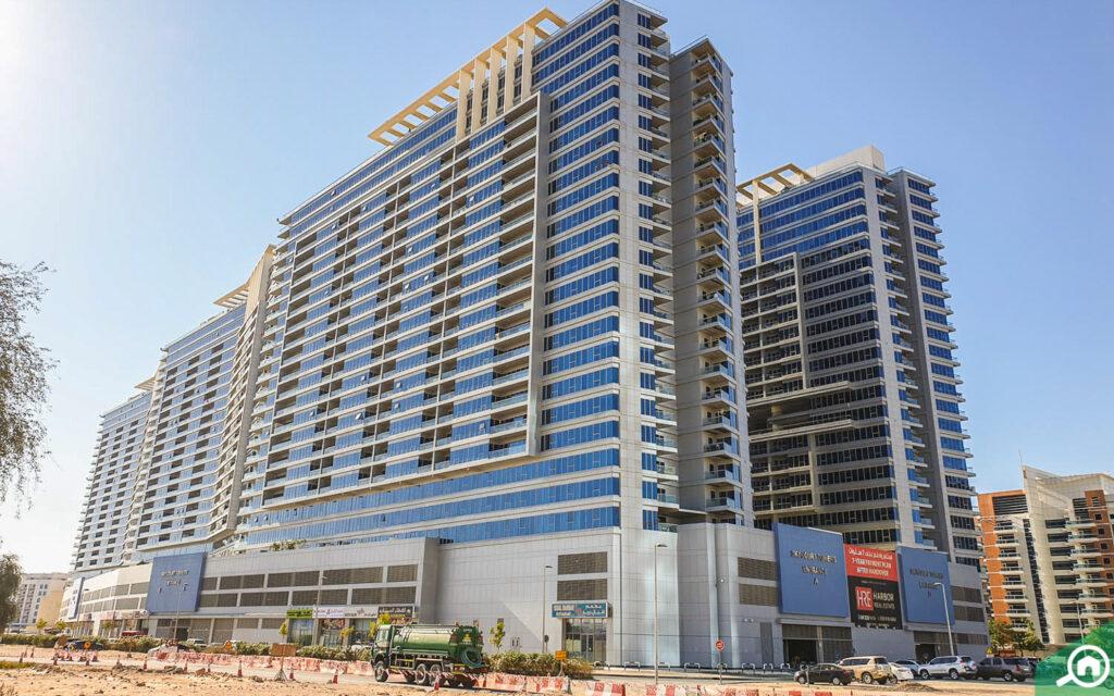 Skycourts tower in Dubai