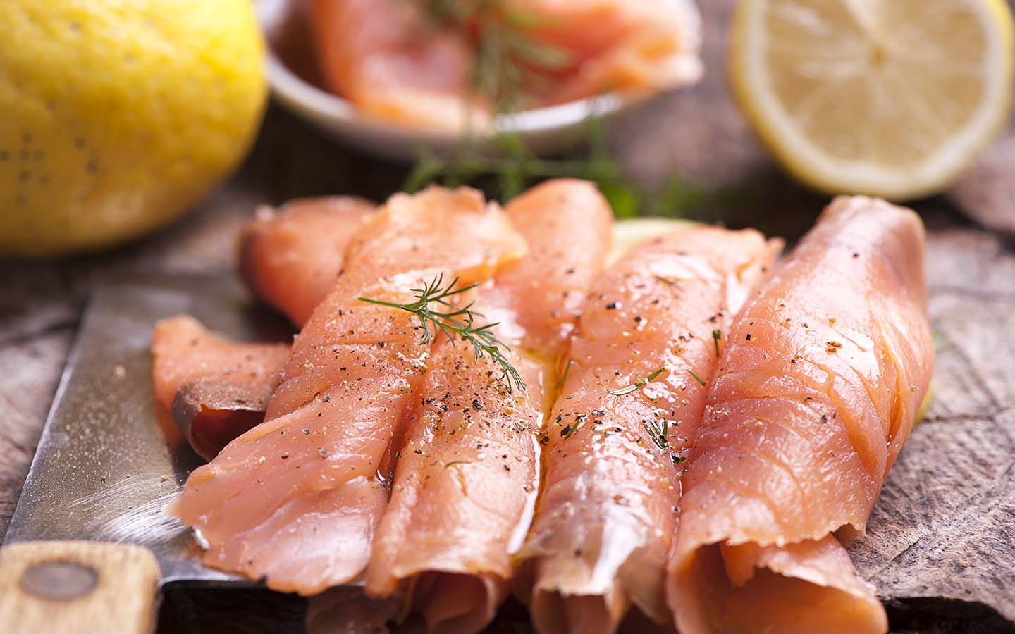 Smoked Salmon at Bu Tafish is the best among seafood restaurants in Jumeirah