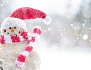 Snowman at Snow Abu Dhabi