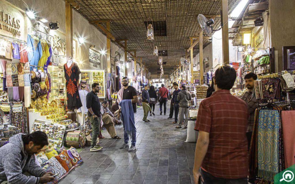 Souvenirs at Deira Spice Souk