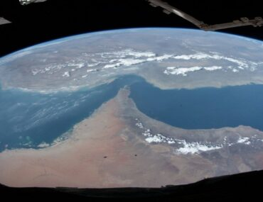 An image of earth from space