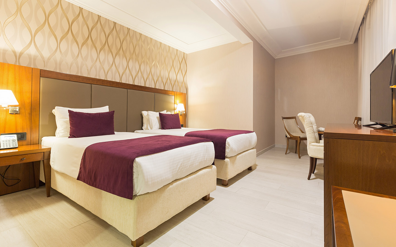 tidy spacious hotel room