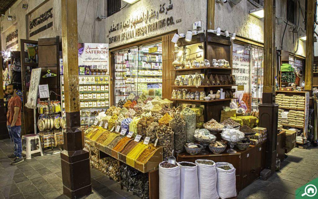 Spice store in Dubai